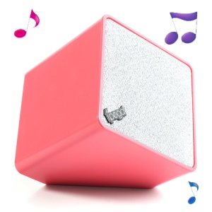 Ipega Wireless Bluetooth Stereo Speaker with Microphone for iPhone iPad iPod Cellphones MP3 MP4 Etc - Rose