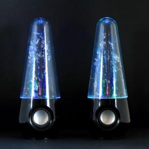 YK-1301 Colorful Dancing Water Jet Speaker for iPhone iPad iPod Mac PC MP3 MP4