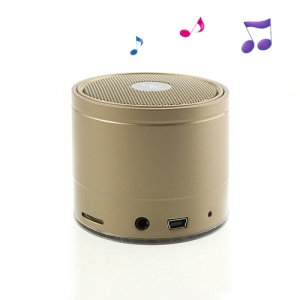 EWA A108 Portable Wireless Bluetooth Speaker with FM Radio / TF Card / Hands-free - Khaki