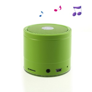 EWA A108 Portable Wireless Bluetooth Speaker with FM Radio / TF Card / Hands-free - Green
