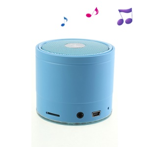 EWA A108 Portable Wireless Bluetooth FM Radio TF Card Hands-free Audio Speaker - Blue