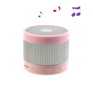 EWA A105 Mini Wireless Bluetooth Speaker with U Disk / TF Card / Hands-free MIC - Silver / Pink