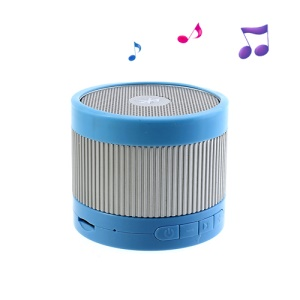 EWA A105 Mini Wireless Bluetooth U Disk / TF Card Hands-free Audio Speaker  - Silver / Blue