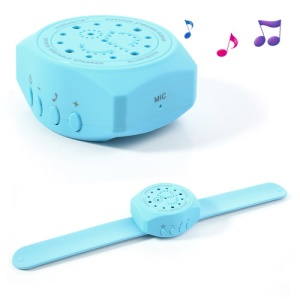 Cool Wrist Watch Bluetooth Speaker Handfree Mic for iPhone iPad Samsung Sony LG Etc - Blue