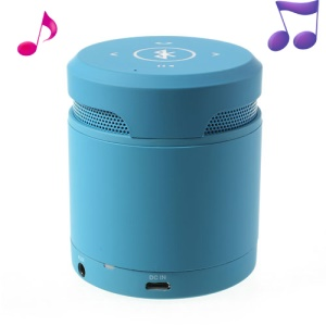 Mini Wireless Bluetooth Speaker Handfree Mic for iPhone iPad Samsung Sony HTC Etc - Blue