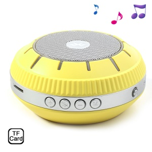 EWA E305 Mirror-shaped Bluetooth Handsfree Wireless Speaker Support TF Card - Yellow