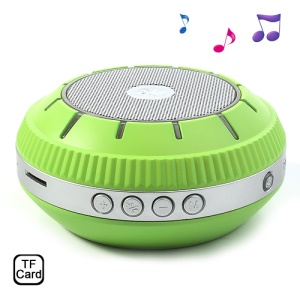 EWA E305 Mirror-shaped Portable Wireless Bluetooth Handsfree Speaker Support TF Card - Green