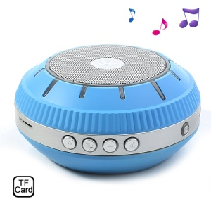EWA E305 Mirror-shaped Mini Wireless Bluetooth Handsfree Speaker Support TF Card - Blue