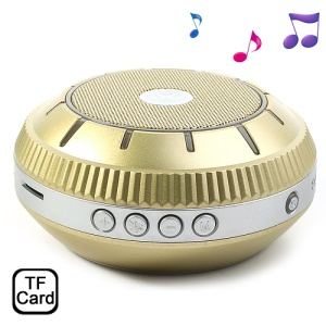 EWA E305 Mirror-shaped Stereo Wireless Bluetooth Handsfree Speaker Support TF Card - Gold