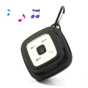 Hi-Rice SD-109 Portable Hi-Fi TF Card Bluetooth Speaker w/ MIC for Mobile Phone MP3 PC - Black