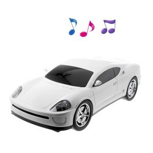 B1 Sports Car Shape Wireless Bluetooth Speaker Support USB Flash Driver / AUX-input
