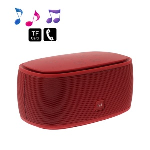 Smart Music 1+1 NFC Bluetooth Speaker 3D Surround Sound Effect - Red