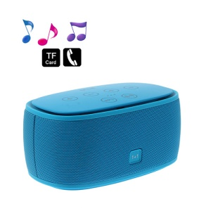 Smart Music 1+1 NFC Bluetooth Speaker 3D Surround Sound Effect - Blue