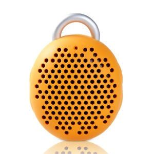 Remax Dragonball Mini Hands-free Bluetooth Speaker with Carabiner - Orange