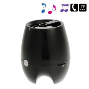 D-93B Stereo Bluetooth Wireless Speaker w/ Mic Support TF Card Aux-input - Black