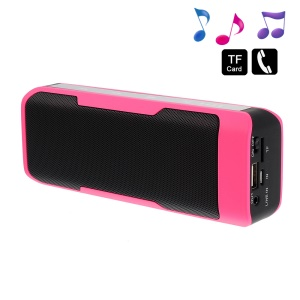 Rose J6 2 in 1 Stereo Bluetooth Wireless Speaker w/ Mic + 4000mAh Power Bank for iPhone Samsung HTC