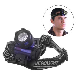 High Power Flashlight Headlamp Torch Zoom Headlight Fishing Running