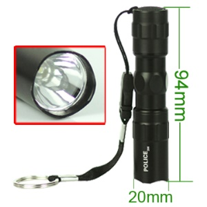 Mini High Bright 3 Watt LED Flashlight Lamp Torch  037-42