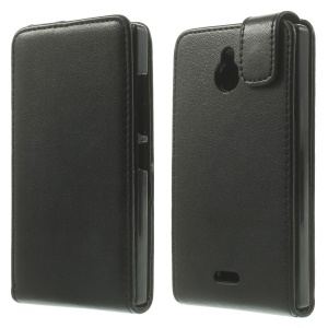 Vertical Leather Magnetic Case for Nokia X2 1013 Dual SIM