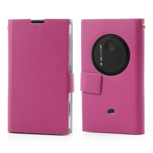 Rose Doormoon Genuine Leather Card Slot Case for Nokia Lumia 1020
