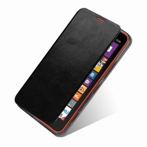 Black MOFI Rui Series Leather Skin Case for Nokia Lumia 1320 RM-994 RM-995 RM-996