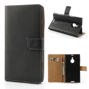 For Nokia Lumia 1520 Magnetic Credit Card Wallet Leather Case with Stand