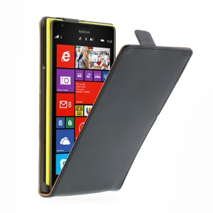 Magnetic Vertical Leather Flip Case for Nokia Lumia 1520