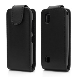 Vertical PU Leather Case Cover for Nokia Asha 300