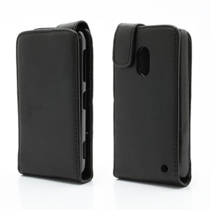 Vertical Magnetic Leather Flip Case Cover for Nokia Lumia 620