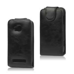 Glossy Leather Flip Case Cover for Nokia Lumia 710 T-Mobile Sabre