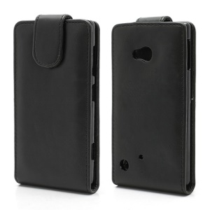 Vertical Magnetic Crazy Horse Leather Case Cover for Nokia Lumia 720