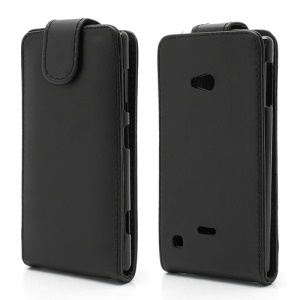 Vertical Magnetic Flap Leather Case Cover for Nokia Lumia 720