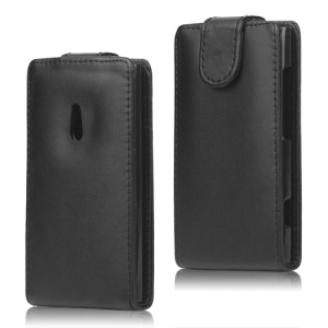 Vertical Leather Flip Case Cover for Nokia Lumia 800 Sea Ray