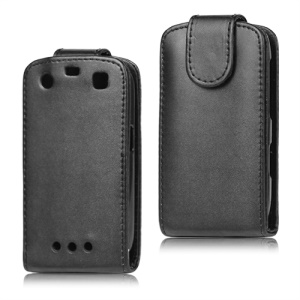 Vertical Leather Flip Case for BlackBerry Curve 9360 9350 9370