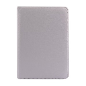 Rotary Stand Litchi Texture Leather Flip Cover for Xiaomi MiPad A0101 - White