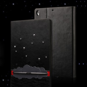 USAMS Starry Sea Series Smart Leather Stand Case for Xiaomi MiPad A0101 - Black