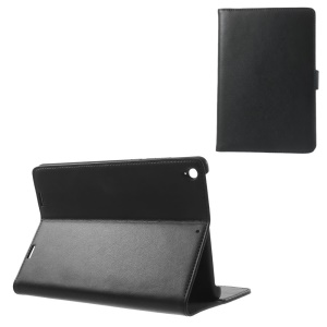Doormoon Genuine Flip Leather Wallet Tablet Case for Xiaomi MiPad A0101 - Black