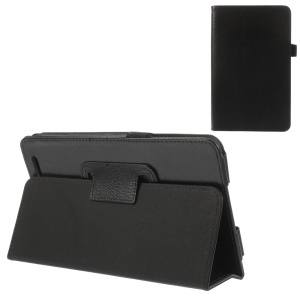 Black for Acer Iconia Tab 7 A1-713 Folio Stand PU Leather Case