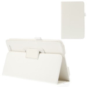 White for Acer Iconia Tab 7 A1-713 Protective Folio PU Leather Stand Case