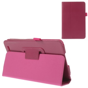 Rose Durable Folio Stand PU Leather Tablet Case for Acer Iconia Tab 7 A1-713