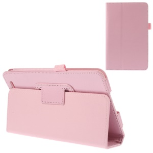 Pink Folio Stand PU Leather Case Accessory for Acer Iconia Tab 7 A1-713