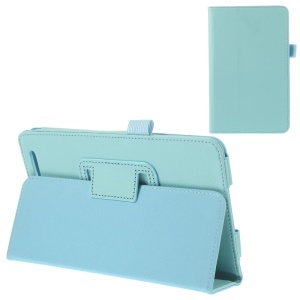 Baby Blue Durable Folio PU Leather Stand Cover for Acer Iconia Tab 7 A1-713