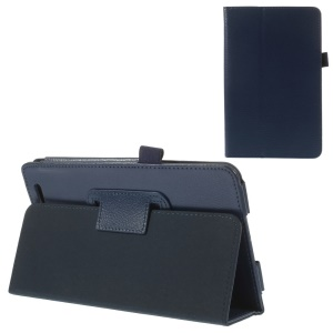 Dark Blue Protective Folio Stand PU Leather Shell for Acer Iconia Tab 7 A1-713