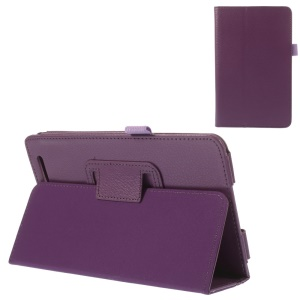 Purple for Acer Iconia Tab 7 A1-713 Folio Stand PU Leather Protector Case