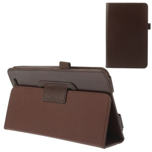 Coffee for Acer Iconia Tab 7 A1-713 Folio PU Leather Cover Case with Stand