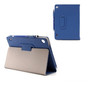 Acer Iconia Tab A1-810 7.9-inch Folio Leather Stand Case with Stylus Touch Pen - Blue