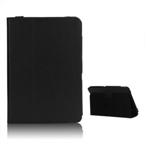 New Folio Stand Leather Case Protective Cover for 10.1 Inch For Acer Iconia Tab A200 - Black