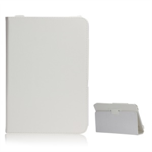 New Folio Stand Leather Case Protective Cover for 10.1 Inch For Acer Iconia Tab A200 - White