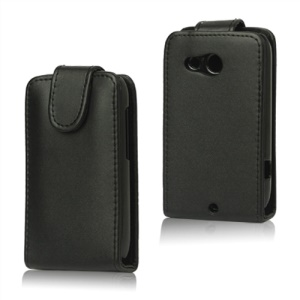 Vertical Leather Skin Case for HTC Desire C A320e