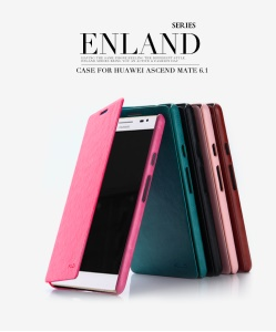 KLD England Series Wallet Stand Leather Case for Huawei Ascend Mate 6.1inch